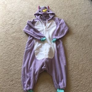 Newcosplay Halloween Unicorn Pajamas